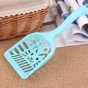Newly Cat Litter Shovel Pet Cleaning Tool Plastic Scoop Cat Sand Toilet Cleaning 1