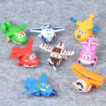8pcs/1lot Super Wings 5cm Toys Action Figures Juguetes Toy #1913 Kids New Year Birthday Gift Free Shipping