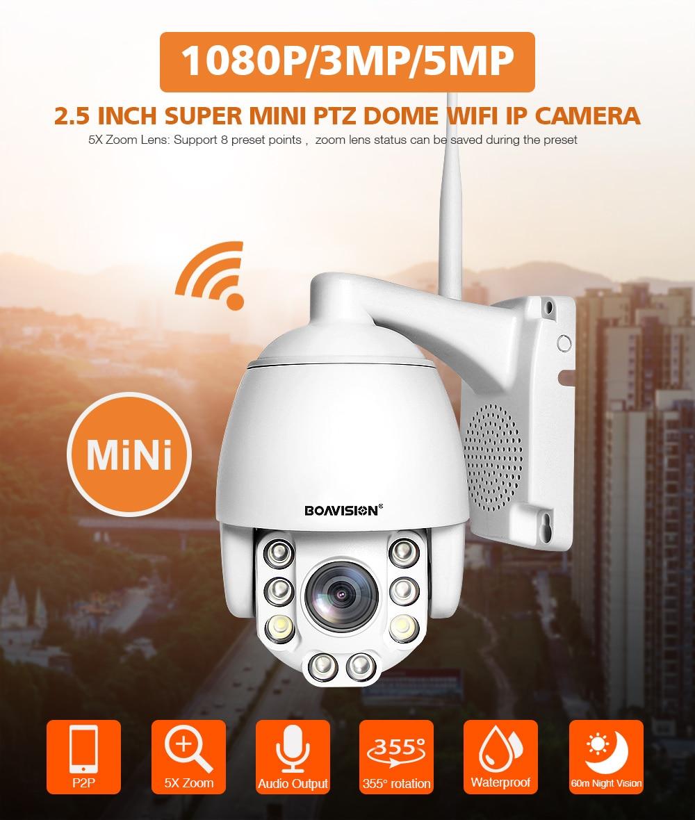 HTB1YwKJbvWG3KVjSZPcq6zkbXXai Wifi PTZ IP Camera 1080P 3MP 5MP Super HD 5X Zoom Two Way Audio Wireless PTZ Cam Outdoor 60m IR Video Home Security Camera P2P
