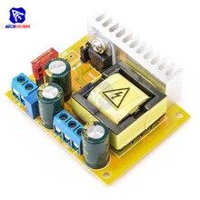 Diymore высоковольтный повышающий преобразователь, 8 В 32 В до ± 5 в 390 в, регулируемый конденсатор ZVS, модуль зарядного устройства