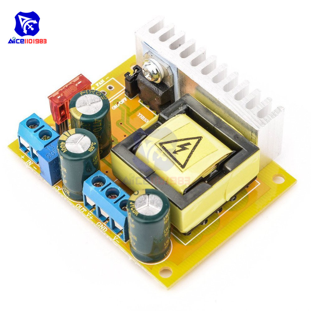 High Voltage DC DC Boost Converter 8V 32V to ±5V 390V Adjustable ZVS Capacitor Charging Power Supply Module-in Integrated Circuits from Electronic Components & Supplies
