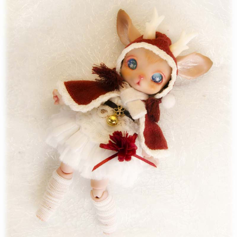 New Arrival 1/8 BJD Doll BJD/SD SM Fashion Cute Sooms Rudy Resin Doll With Eyes For Baby Girl Birthday Gift Present