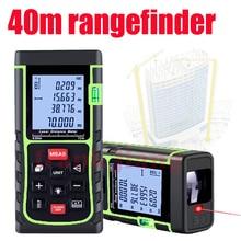 40m laser Rangefinder laser Distance Meter Digital laser Range Finder tools Electronci Ruler range finder Measure