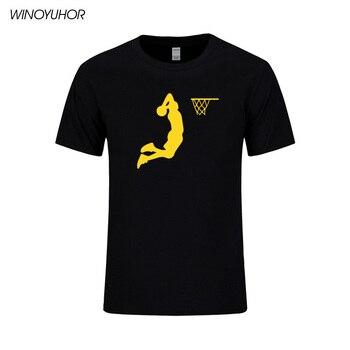 Slam Dunk, camiseta para hombre estampada, camiseta de baloncesto de verano de manga corta, camiseta guay para hombre, ropa informal estilo Hip Hop, camisetas