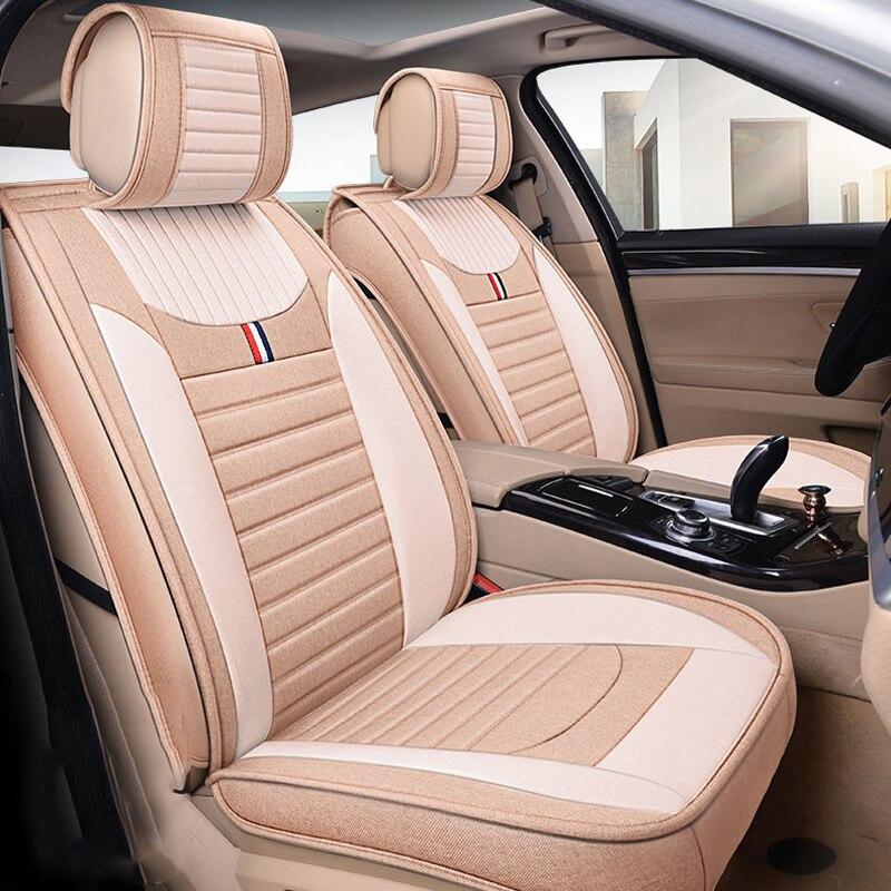 Housse de siège de voiture housse de siège de véhicule en cuir pour brillance faw v5 byd f0 f3 s6 Cadillac cts srx cs35 chery tiggo 5 t11