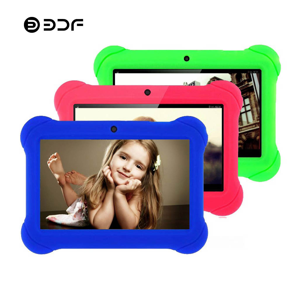BDF 2019 New 7 Inch WiFi Tablet Pc for Kids Gift Game APP BabyPAD Android 4