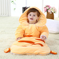 Autumn Winter Cute Baby Sleeping Bag Pure Cotton Baby Thick Warm Sleepsack Anti Kicking Quilt Blanket Soft Baby Wrap Swaddle C01