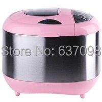 china Donlim XBM 1028GP full automatic bread machine break  maker Pink  Stainless steel steel stainless steel t steel machine -