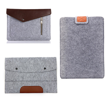 hot deal buy 3 designs new felt bag fashion laptop sleeve bags cases for macbook air 11.6