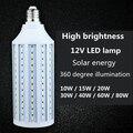 5730 бусинковые лампы мощностью 10 Вт  15 Вт  20 Вт  30 Вт  40 Вт  60 Вт  80 Вт лампочка B22 E27 E14 Светодиодный лампа IP30 кукурузная осветительная лампочка 12В...