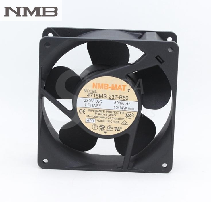 For NMB Blowers 4715MS-23T-B50-A00 1238 230V 12cm 120mm AC industrial axial cooling fans