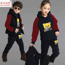 V-TREE 2018 Autumn Clothing Sets Camouflage Clothes For Boy