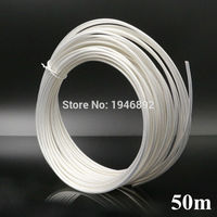 50M 164ft RG316 White Coaxial Cable Wires RF 50 Ohm Shielded Cable wire DIY