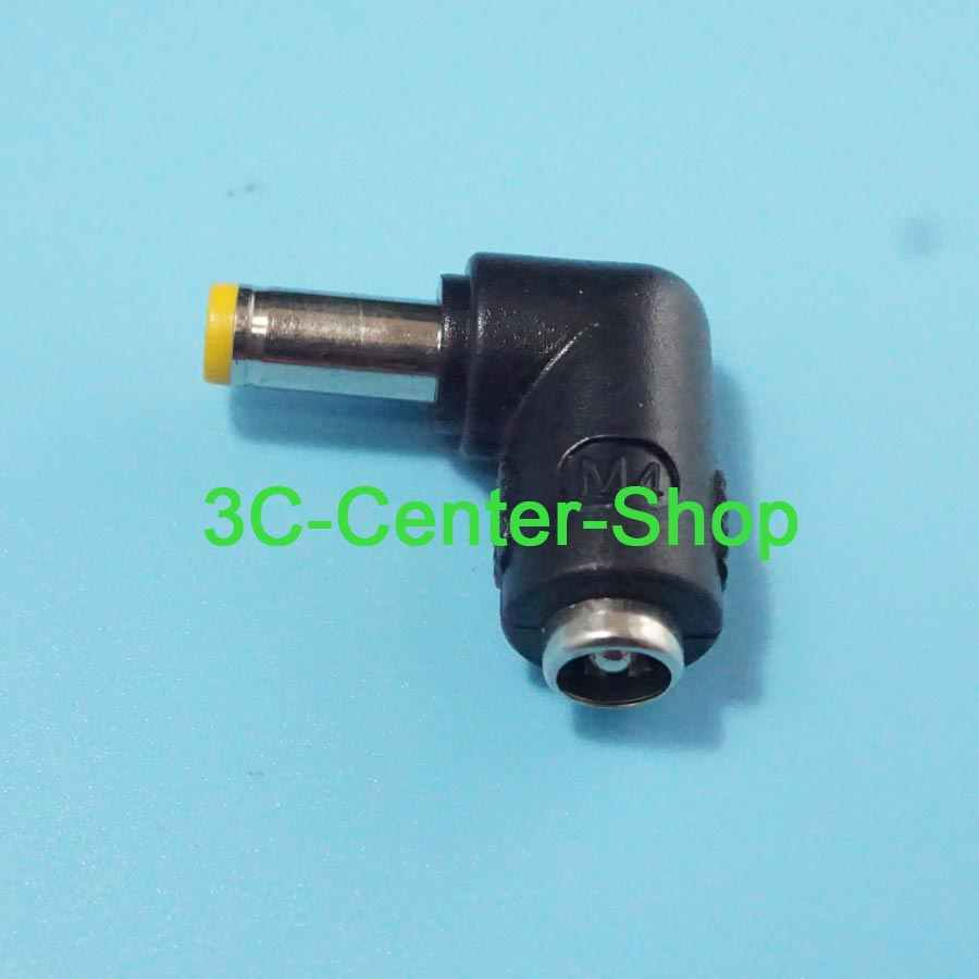 1 CÁI 5.5x2.5 nữ để 5.5x2.5mm nam DC Power Nối Adapter Chuyển Đổi 5.5*2.5 đến 5.5*2.5mm elbow Cho LENOVO máy tính xách tay