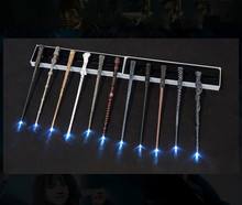 Hot sale Cosplay show Harri Potter magic wand Full range of magic stage props glow Halloween props Christmas School gift(China)