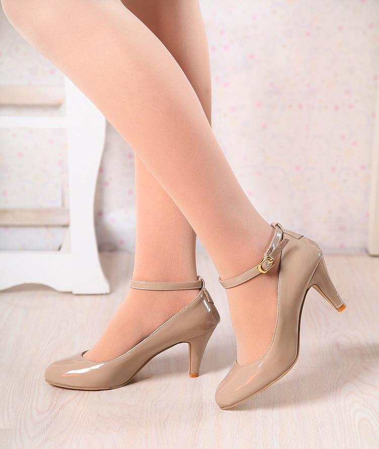 2016 New Sapato Feminino Shoes Zapatos Mujer Tacon Fshion Women's Pumps Ultra High Heels Platform Party Dance Shoes Woman 01-8