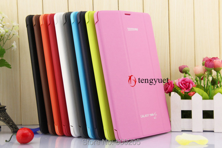 3 in 1 Business Stand Tablet Cover Case For Samsung Galaxy Tab S 8.4 SM-T700 T705 + Screen Film + Stylus with