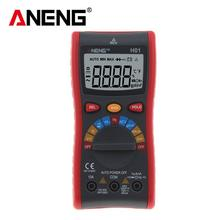 H01 Digital Multimeter NCV 4000 Counts Backlight AC/DC Ammeter Voltmeter Ohm Portable Wire test Power meter with Auto Range large lcd trms clamp multimeter 6000 counts temperature auto range ac dc ammeter with backlight free shipping ng4s