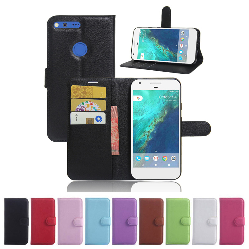 For Google Pixel/Pixel XL Wallet Flip Leather Case With Card Slots Stand Cover For Google Pixel/Pixel XL Cell Phone Bag