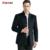 Abrigo de Invierno Largo Abrigo de Lana Hombres de negocios de Corea del Estilo de Otoño Casual Mens Del Collar Del Soporte Abrigos de Lana Más El Tamaño de Abrigo Hombre