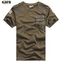 Ambientazione esterna degli uomini US Navy Militare T-Shirt Army Badge Quick Dry Nero Kaki Verde Girocollo Tees Tops Per Maschile