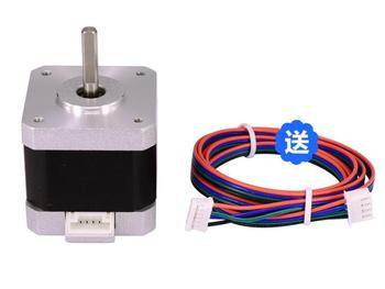 цена на Nema 17 Stepper Motor 1.7A 42*40mm for CNC Lathe Plasma wood Router