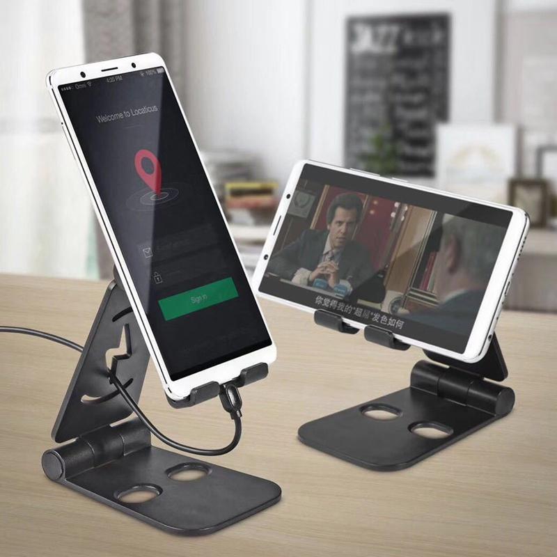 Group Vertical Universal Foldable Desktop Desk Stand Holder Mount Plastic For Cell Phone Tablet Pad D20