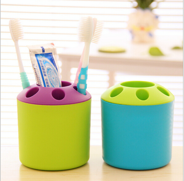 toothbrush Candy storage box organizadora households bathroom accessories Porous creative teeth toothpaste toothbrush holder