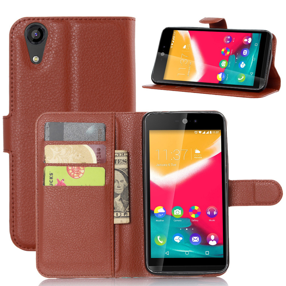 Luxury PU Leather Wallet Coques Funda For Wiko Rainbow Jam 4G Phone Cubierta Bag Flip Cover For Wiko Rainbow Jam 4G Case