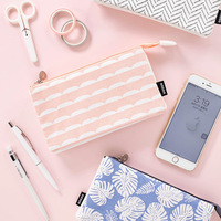 Simple Color Pencil Bag Pencil Case Pencil Pouch - Stationery For School  As a wallet or cosmetic bag.