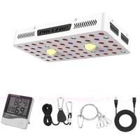 Phlizon 1000 watt plant lamp full spectrum COB led grow light for indoor plants hydroponic system garden lights