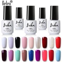 Belen 7 мл горячая распродажа 50 цветов Красный Розовый Белый Гель-лак для ногтей УФ светодиодный Полупостоянный лак Гель-лак