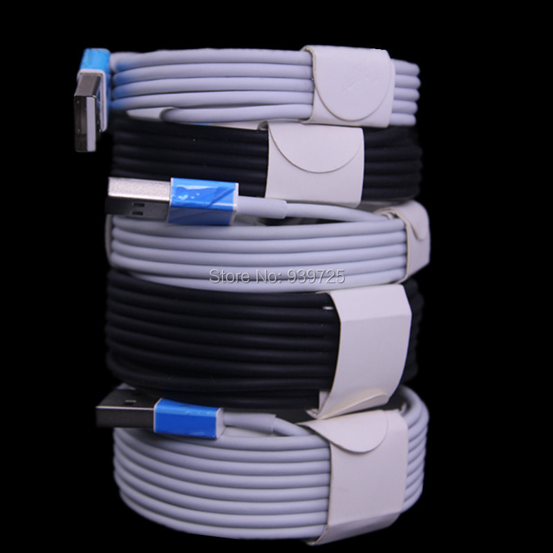 bilder für 100 teile/los weiß schwarz 1 mt 2 mt 3 mt 8pin kabel Zubehör Bundles für iphone se 5 6 für ipad mini für ios 9