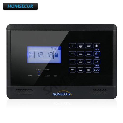 HOMSECUR Wireless GSM Alarm Host DC 12V / 1.2A Only For 433Mhz Alarm System
