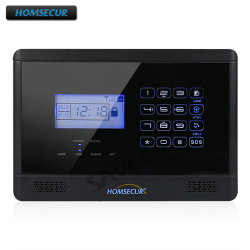 HOMSECUR Wireless GSM Alarm Host DC 12V / 1.2A Only for 433Mhz Alarm System