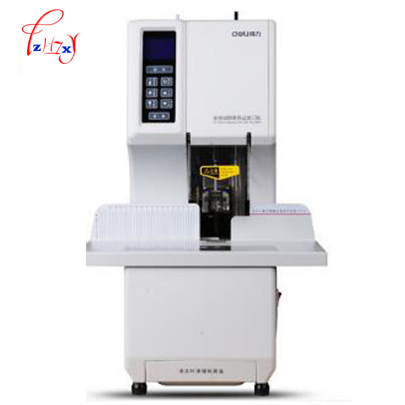 Automatic financial binding machine equipment Tube Bending Machine Compulsory Machine Financial 50mm Thickness