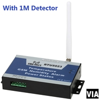RTU5023 1M Detector Free Shipping GSM Temperature Monitoring SMS Power Humidity Environment Alarm Android APP Remote