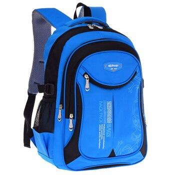 2020 hot new children school bags for teenagers boys girls big capacity backpack waterproof satchel kids book bag mochila - discount item  37% OFF School Bags