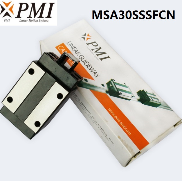 8pcs/lot Original Taiwan PMI MSA30S-N MSA30SSSFCN linear guideway sliding block Carriage for CO2 laser machine MSA30S8pcs/lot Original Taiwan PMI MSA30S-N MSA30SSSFCN linear guideway sliding block Carriage for CO2 laser machine MSA30S