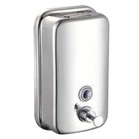 Chrome Finish Soap Shampoo Dispenser Mounted Shower Bathroom Model 800ml