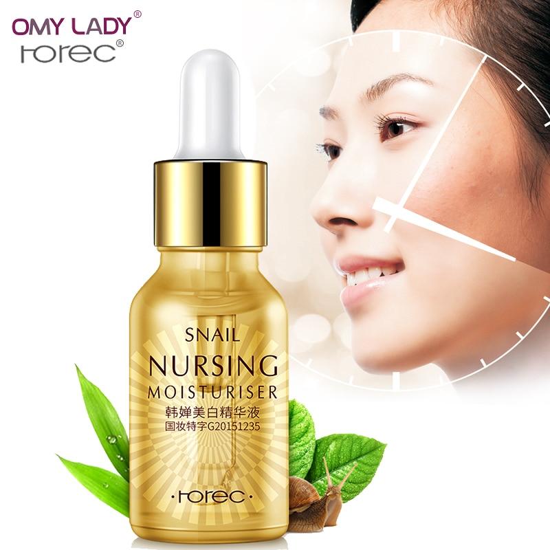 OMY LADY ROREC Skin Care Pure snail Essence Day Cream Anti Wrinkle Face Care Anti Aging Collagen Whitening Moisturizing cream все цены