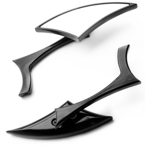 Custom Rear View Mirrors For Harley Sportster 1200 <font><b>Iron</b></font> <font><b>883</b></font> Nightster Roadster Forty Eight XL1200X image