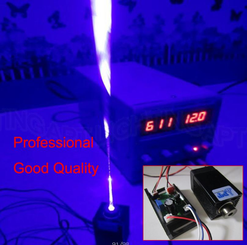 DIY Focusable High Power 1000mW~1200mW 450nm 445nm Blue Laser Diode Module withTTL For CNC Cutter Engraving Machine Adjust 1000mw 450nm focusing blue laser module engraving ttl module 1w laser tube laser diode module