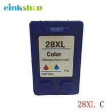 2 COLOR Compatible ink cartridge For HP 28 Deskjet 3745 3747 3843 3845 3550 3650