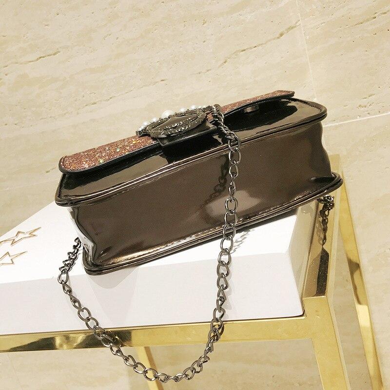 Women Bags Women Shoulder Bags Lady Handbags Vintage Chain Personalized Small Bag