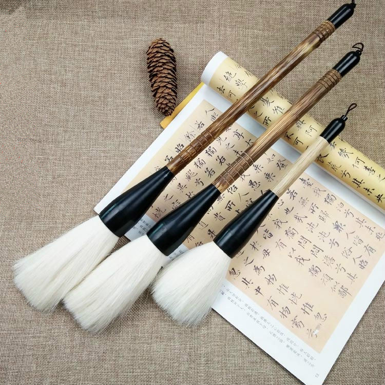 Dance Props Chinese Calligraphy Brush Pen Soft Woolen Hair Extra Large Hopper-shaped Brush Pen Performing Performance ProductsDance Props Chinese Calligraphy Brush Pen Soft Woolen Hair Extra Large Hopper-shaped Brush Pen Performing Performance Products
