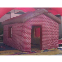 High quality large cube inflatable tent/pink camping tent for big events or party