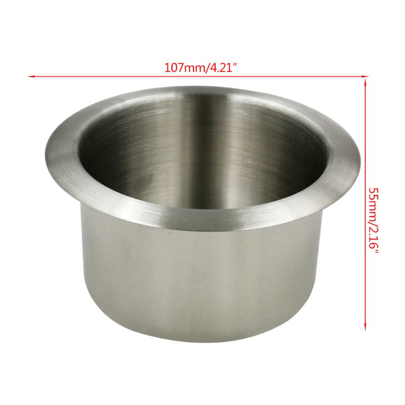New 1 Pc Multifunction Stainless Steel Cup Drink Holder for Marine Boat Car Truck Camper RV Recliner Sofa Accessories(China)