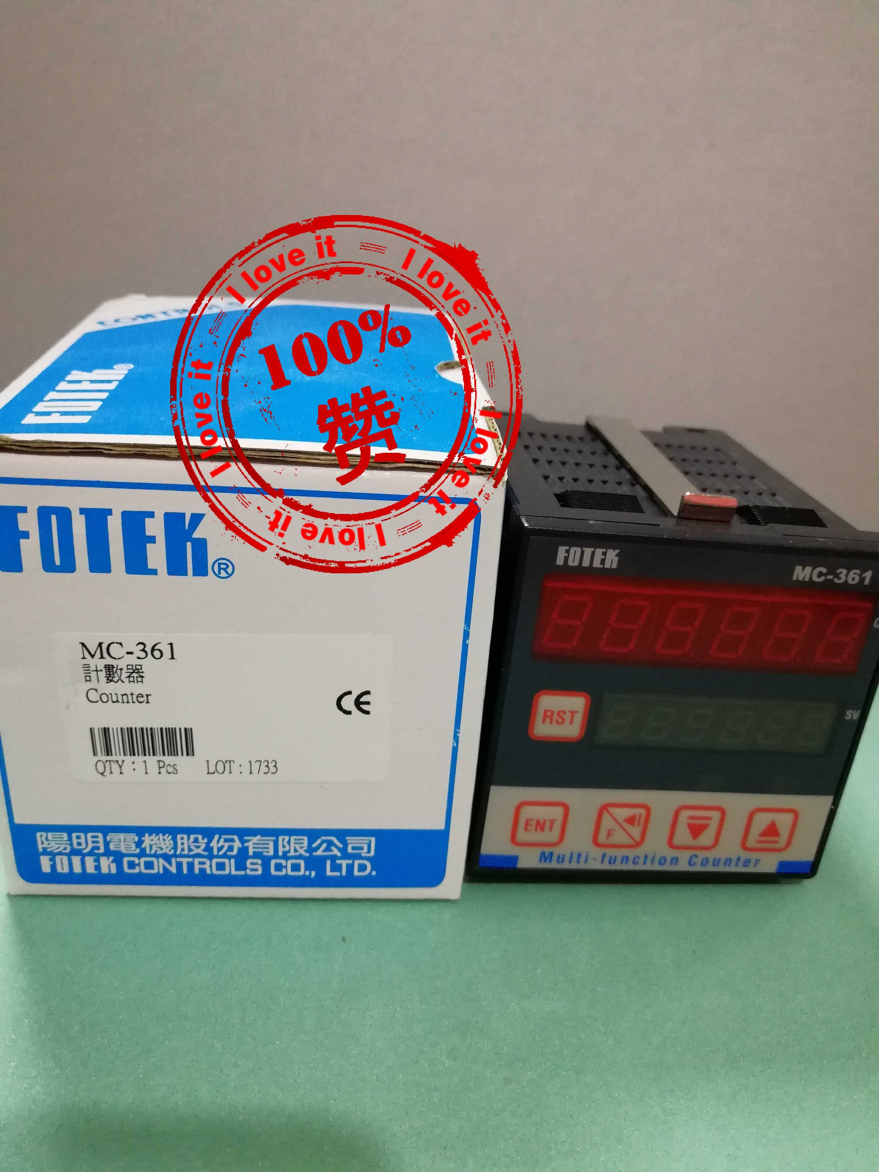 Thin Film Set Multi-function Counter MC-361 New Original Yangming Electromechanical