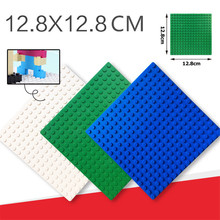 16*16 Dots Base Plate for Small Bricks Baseplate Board Brinquedos City DIY Building Blocks Sets Educational Toys For Children marumine plate 8 x 16 boys and girls toys compatible building blocks set base plate diy classic educational bricks